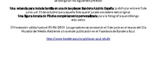 Concurso Bandera Azul Pitufos_CEIP FDLR_Las Rozas