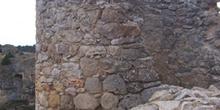 Cubo de muralla, Castillo de Calatañazor, Calatañazor, Soria, Ca