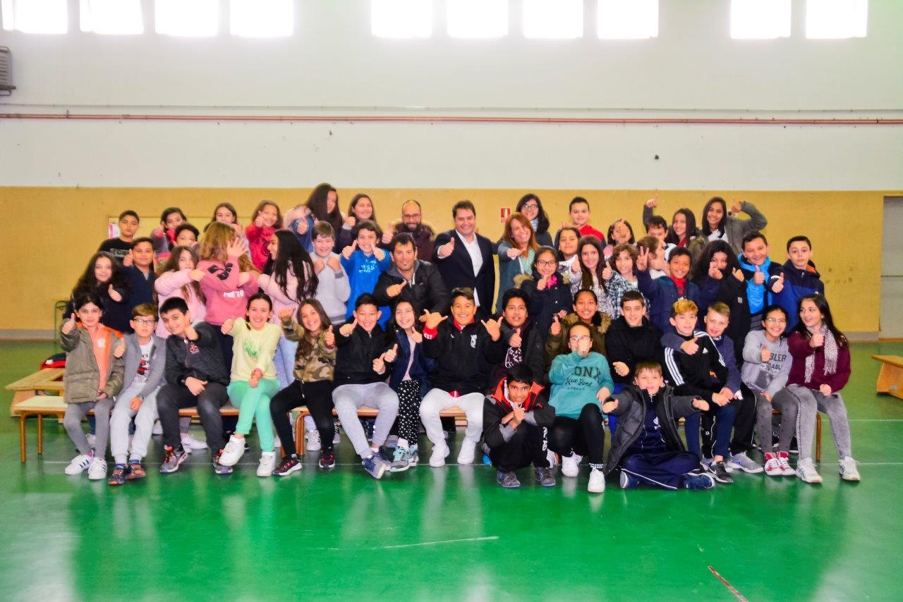 Visita del Alcalde de Torrejón de Ardoz al CEIP Andrés Segovia 8