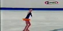 Sasha cohen (patinadora) Conservación del momento angular
