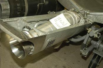 Motor Cohete Mod. G-841-844, Museo del Aire de Madrid