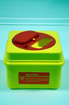 Contenedor de residuos bio-sanitarios