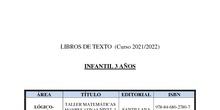 Libros Texto curso 2021/22