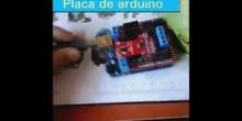 Placa Arduino viajera. Primer vídeo de alumna
