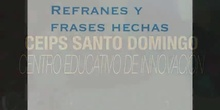 2ESO - Refranes y frases hechas - Jorge Roales