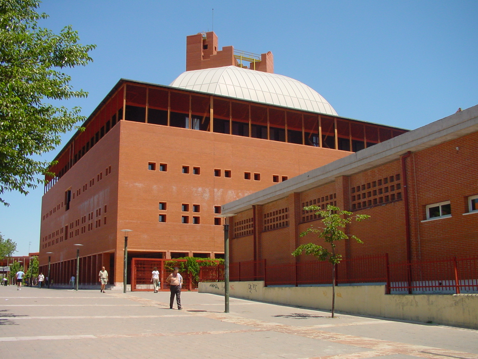 Auditorio Padre Soler Campus Universidad Carlos III en Leganés