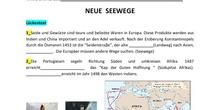 Neue Seewege (Lückentext) - 3º ESO