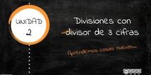 Divisiones con divisor de tres cifras