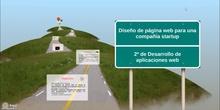 Proyecto final curso APS: Diseño de página web para compañía startup
