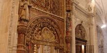 Reja de la Capilla Vieja de San Julián, Catedral de Cuenca, Cast