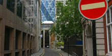Swiss Re Building, del arquitecto Norman Foster, Londres, Reino
