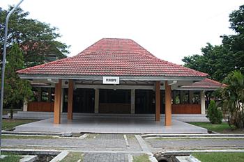 Pabellón de música, Jogyakarta, Indonesia
