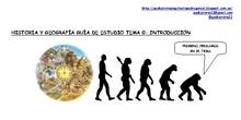 Introducción a las Ciencias Sociales: Geografía e Historia