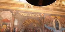 Frescos y artesonado de la sala capitular, Catedral de Toledo, C