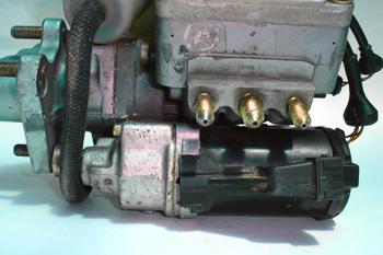 Sistema Teves MK II. Electrobomba hidráulica