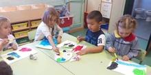 Arte en Infantil.Curso 18-19