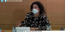 Prevención del suicidio en los centros educativos: Dª Mayelin Rey Bruguera