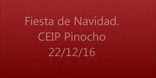 Fiesta de Navidad 2016 del CEIP Pinocho.