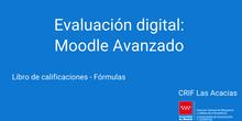 Libro de calificaciones - Fórmulas