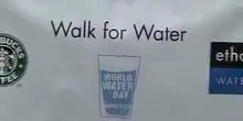 Executive Director joins Starbucks and Ethos 'Walk for Water'