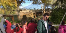 Excursión al zoo 5 años, 1º y 2º Luis Bello 18