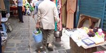 Anciano, Zoco de Túnez