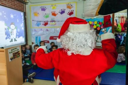 Los RRMM y Papá Noel en INF 3B