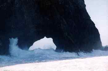 Hole in the rock en la Bahía de Islas, Nueva Zelanda