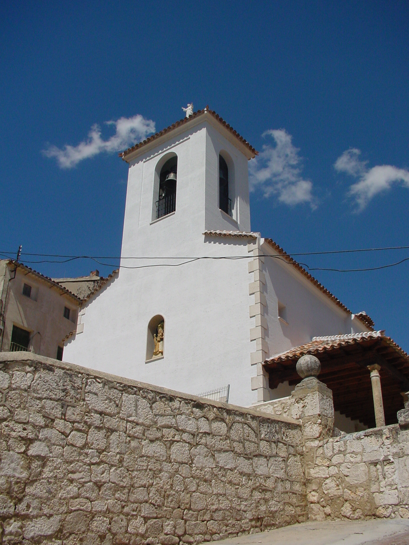 Iglesia de Nuestra Señora de la Asunción en Valdelaguna
