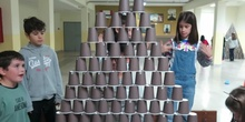 vídeo1- Pirámide vasos