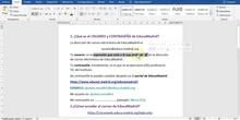 Videotutorial sobre CORREO ELECTRÓNICO y AULA VIRTUAL de EducaMadrid