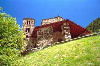 Iglesia de Sant Martí de La Cortinada, Principado de Andorra