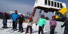 Esquiando en Navacerrada