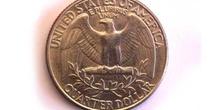 Moneda de cuarto de dólar, cruz, Estados Unidos de América
