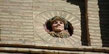 Adorno fachada de la Lonja de Zaragoza
