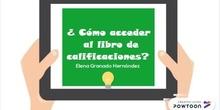 Tutorial libro de calificaciones. Elena Granado.