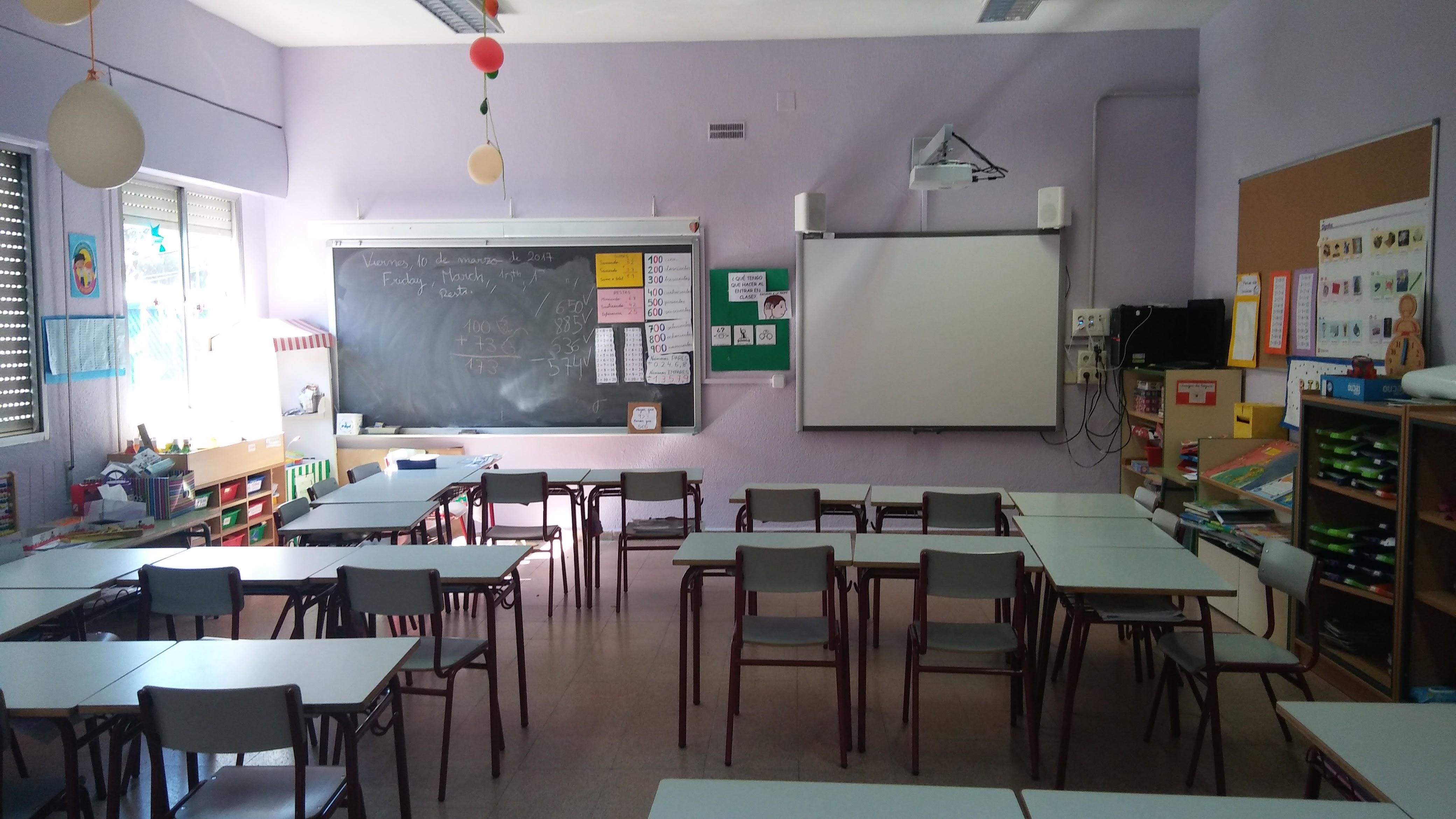 Aulas de Primaria 3