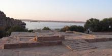 Restos edificación, Philae, Egipto