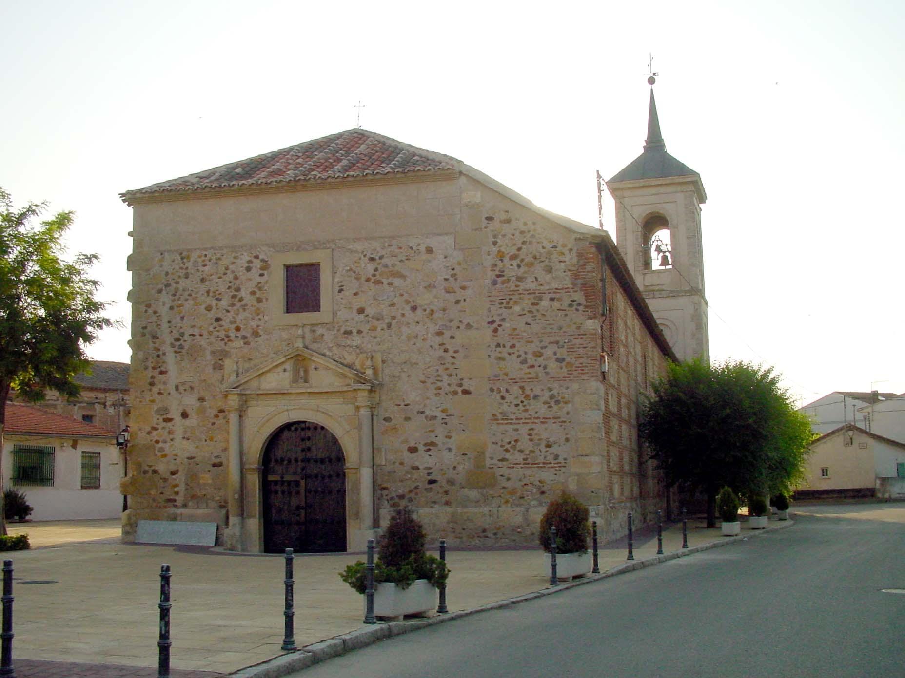 Iglesia de San Juan Bautista en Talamanca del Jarama