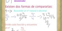 PRIMARIA - 6º - LAS FRACCIONES - MATEMÁTICAS