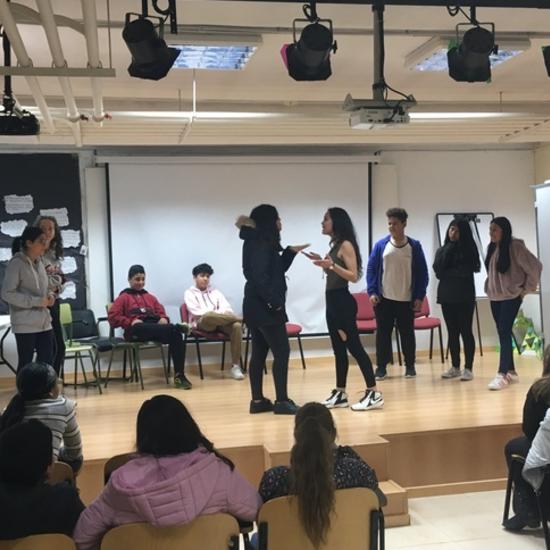 Formación para alumnos  ayudantes de otros centros