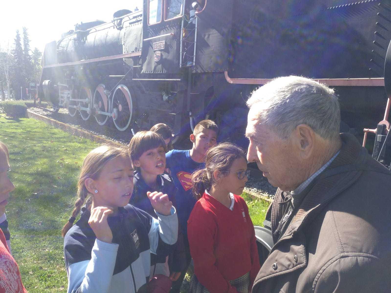 2019_03_15_Cuarto B visita el Museo del Ferrocarril de Las Matas_CEIP FDLR_Las Rozas 4