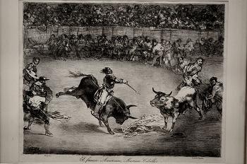 El famoso americano Mariano Ceballos, de Goya, Huesca