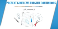 Grammar: present simple and present continuous
