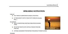 3. spreading motivation