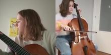 Interpretación instrumental - Miren, Oriana, Cayetana y Emma