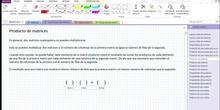 2Bto - 01 - Matrices - 06 - Producto de matrices I