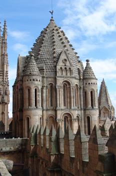 Torre del Gallo, Catedral Vieja de Salamanca, Castilla y León