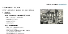 BOCETO DE ESTUDIO Arte romano 2ºBACH Historia del Arte