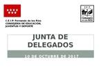 Presentación Junta de Delegados octubre 2017